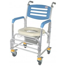 CS-012B 鋁製附輪便器椅
