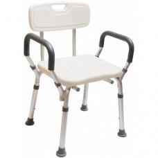 9026 鋁製有扶手有背洗澡椅