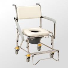 CS-010 不鏽鋼便盆椅附輪